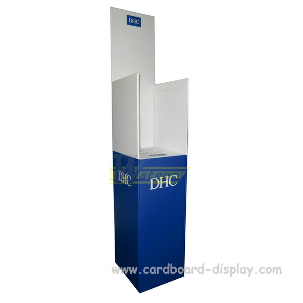Cosmetic Advertising Brochure Cardboard Display Rack