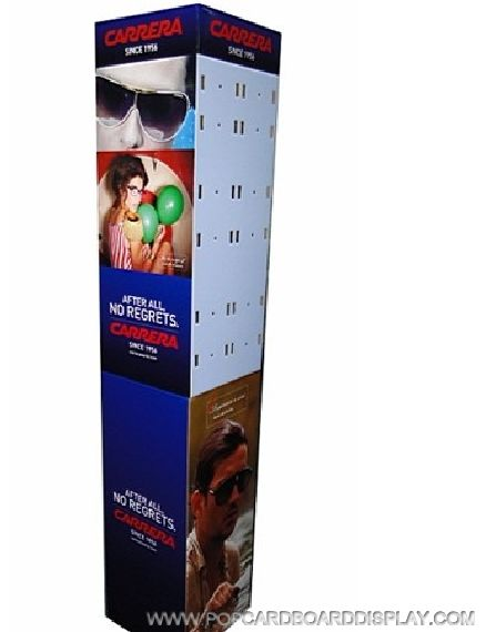 Sunglasses Paperboard Display stand