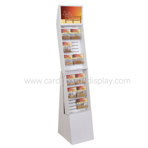 Lay's Chips food cardboard display stand