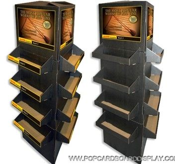 ... Double Side Practical Promotion Cardboard Floor Display