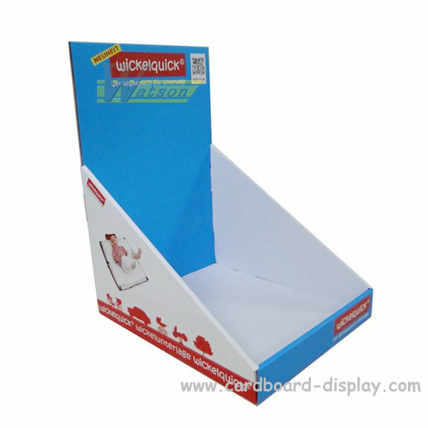 Cardboard Counter top display for baby product
