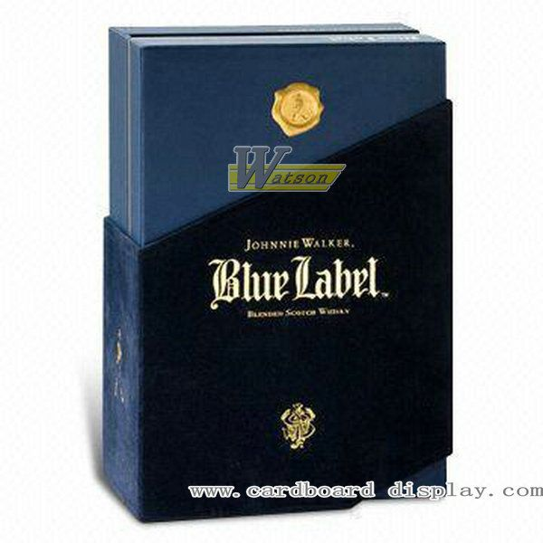 High grade paper wine box for Whisky