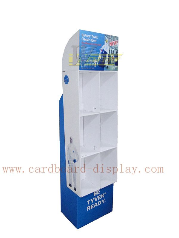Cardboard advertising display racks for promotion