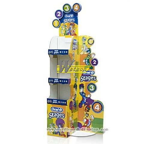 Good ... 3 Tier Cardboard Display For Toothbrush