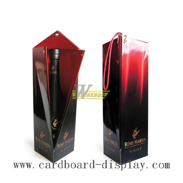new design foldable wine box