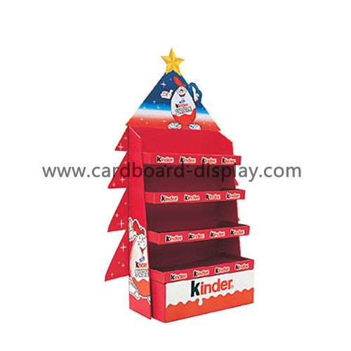 2015 Christmas candy display shelf supermarket gift Customize